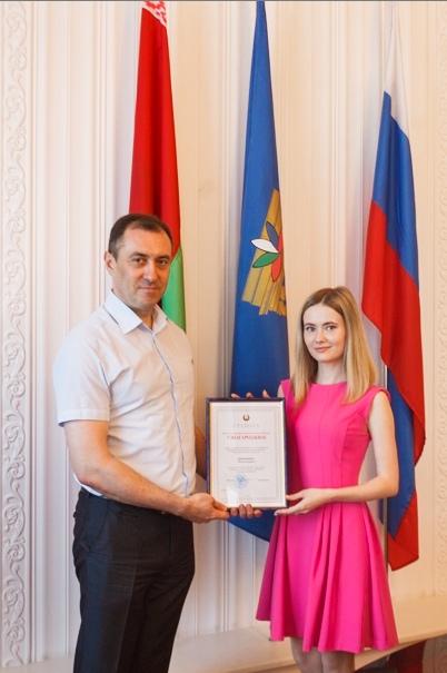 Встреча выпускников с ректором университета М.Е. Лустенковым