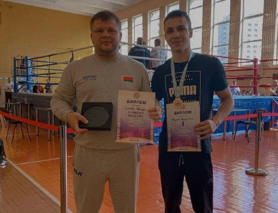 Студент Белорусско-Российского университета стал чемпионом Республики Беларусь по боксу