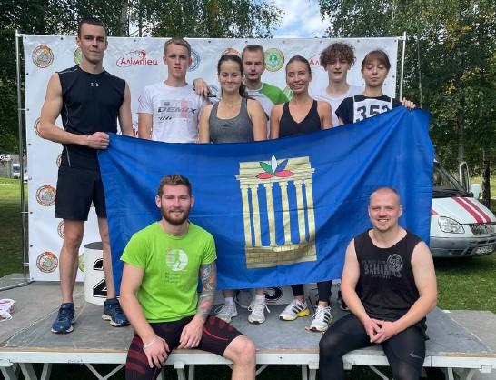 Студенты Белорусско-Российского университета приняли участие в республиканском легкоатлетическом забеге «За единую Беларусь»