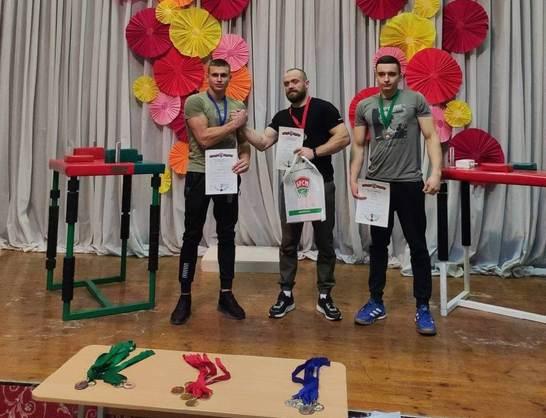 Сборная команда Белорусско-Российского университета стала победителем кубка г. Минска по армрестлингу